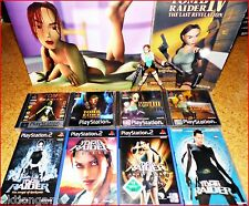 PSX/ PS2/ PS3 LARA CROFT- TOMB RAIDER 1 - 8 *Games Wählbar