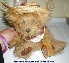 NWT Handcrafted Brass Button Bear Collectables