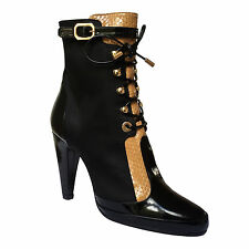 Magrit Spanish Designer Heeled Ankle Boot Various Sizes SP £410 Steampunk Gothic
