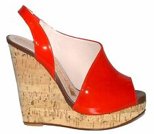 Magrit Spanish Designer Peep Toe Wedge Sandal NIB Various Sizes SP £335