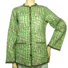 Contemporary Print Quilted Jacket for Women by JaipurSe