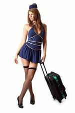 Naughty Ladies Cabin Crew Costume Adult Air Hostess Outfit