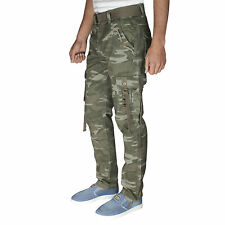 Greentree Mens Cargo Pant Pure Cotton Casual Trouser MACR501