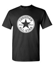CHRISTIAN ALL STAR - jesus christ lord god - Cotton Unisex T-Shirt