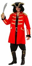 Captain Red Costume da pirata NUOVO - Uomo Carnevale Travestimento Costume