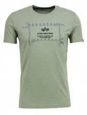 Alpha Industries Camiseta Hombre Steel T