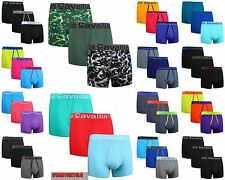 Mens Cotton Rich Boxer Shorts Gifts Underwear Trunks S,M,L,XL, Pack Of (6,12,24)
