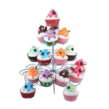 3-5 Tier Metal Cupcake Muffin Tower Stand Rack Wedding Party Desserts Display