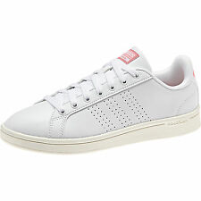 Adidas CLOUDFOAM ADVANTAGE AW3974 sneakers DONNA ispirata STAN SMITH Col. BIANCO