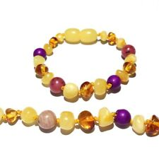 Child My Love Gemstones Honey Butterscotch Baltic Amber Anklet Love Amber x UK