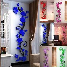 3D Flower Removable Vinyl Quote Wall Sticker Decal Mural Home&Room DIY Decor