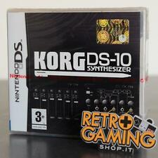 KORG DS-10 SYNTHESER ITA NINTENDO DS PAL ITA COMPLETO CIB