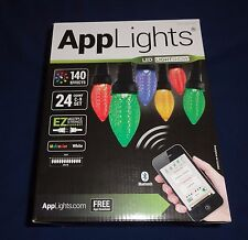 LED AppLights 24-Light LED Show Lightshow C9 Color Changing Christmas App Lights