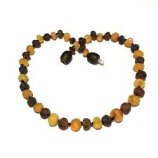 Child Pippin Genuine Raw Green Honey Baltic Amber Necklace Love Amber x UK