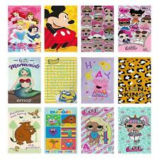 OFFICIAL CHARACTER BEACH TOWELS GIRLS 100% COTTON PAW PATROL PRINCESS PEPPA NEW