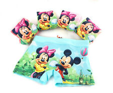 5PCS Minnie Kids Girls Underwear Panties Children Cartoon Boxer Shorts Briefs