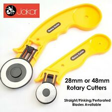 Jakar Rotary Cutter Quilters Sewing Fabric Leather Craft Vinyl Paper 45mm / 28mm