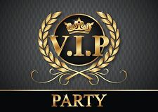 INVITI VIP - pregiato Set di carte di invito / Biglietti per V.I.P.Party