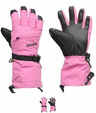 FASHION Burton Vent Gloves Junior Girls Pink