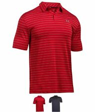 OCCASIONE Under Armour Coolswitch Polo Shirt Mens Red