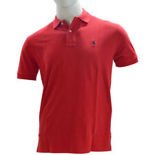 Polo Ralph Lauren Classic Fit Mesh Polo T-Shirt - Mehroon