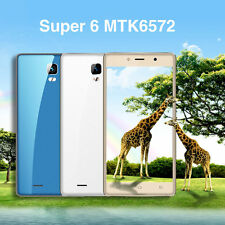 Super 6 MTK6572 3G Android 6.0 Dual-core 1.2Ghz Dual Standby Smart Phone M*