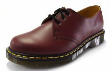 DR MARTENS 1461 Cherry Red Smooth Leather Shoes
