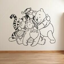Winnie the Pooh & Friends - Kids & Nursery Wall Sticker, Quote, Decal, UK