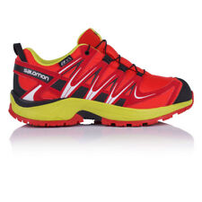 Salomon XA Pro 3D CSWP Junior Rojo Zapatillas Impermeables Trail Running Deporte