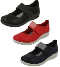 Mujer Clarks cloudsteppers Zapatos Planos ocasionales Sillian Cala