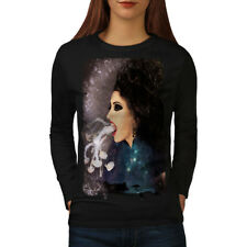 Smoke Vape Space Fantasy Women Long Sleeve T-shirt NEW | Wellcoda