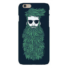 Weed Beard Printed Back Case for iPhone, Samsung and OnePlus