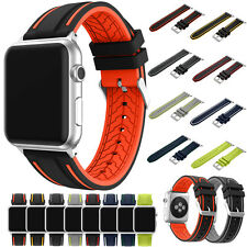 Sports Silicone iWatch Bracelet Strap 38mm/42mm For Apple Watch Band Series 1&2