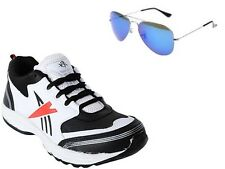 ABZ COMBO OF RUNNING SHOES+BRANDED SUNGLASSES-29