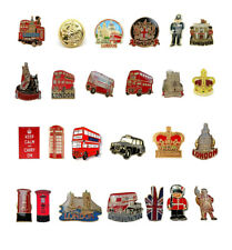 British London Souvenirs Lapel Enamel Pin Badge Brooch UK GB Novelty Gift