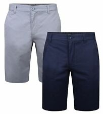 French Connection Men's Chino Shorts Casual Cotton Summer Half Pants Smart Plain