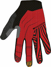 Madison Flux Mens Mountain Bike MTB Cycling Cycle Full Finger Gloves - Clearance