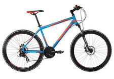 "Indigo Descent Mens Mountain Bike 26"" Front Suspension Disc Brake RRP £319.99"