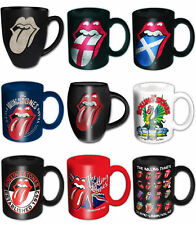 The Rolling Stones Mug Tongue band logo Est 1962 new official boxed