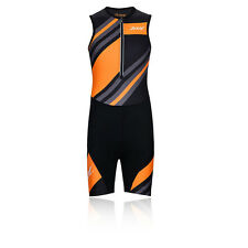 Zoot Performance Tri Junior Sleeveless Half Zip Sports Triathlon Racesuit