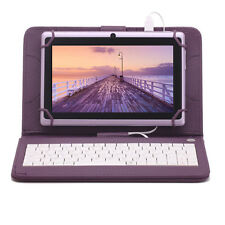 """7"""" Quad Core 8GB Lila Tablet PC Android4.4 Dual Kamera Bluetooth Kinder Geschenk"""
