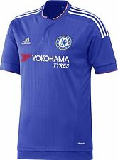 BOYS ADIDAS CHELSEA HOME SHIRT 2015/16  BNWT AGE 7-8  LAST ONE