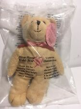 Vintage 2001 Canadian Exclusive Avon Flame Teddy Bear Sealed