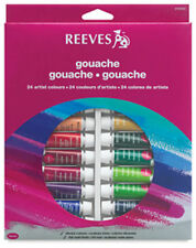 Reeves Gouache Tube Sets - Opaque Water Colour - 12x10ml - 18x10ml - 24x10ml
