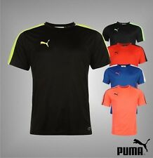 Mens Puma Ventilation Panels Evo Training Short Sleeves T Shirt Top Size S-XXL