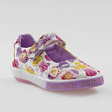 Lelli Kelly enfants Dollface blanc fantaisie Dolly Chaussures lk4062 (BA02) +