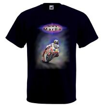 Airbrushed Isle of Man TT  Superbike Rider Guy Martin T-Shirt in any Size