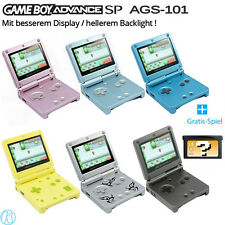 GBA SP AGS-101 / Nintendo GameBoy Advance SP Console + FREE Game
