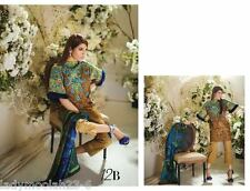 SANA SAFINAZ Pakistani Designer SUMMER 2017 LAWN Embroidered Ready Made Suit L