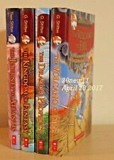 Lot of 4 GERONIMO STILTON Graphic Novels HARDCOVER Books BRAND NEW